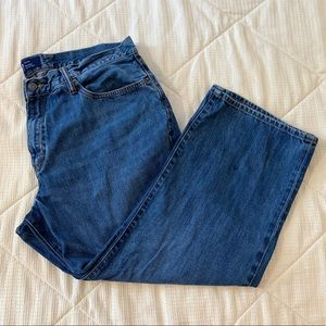 GAP Relaxed Fit Medium Wash Jeans
